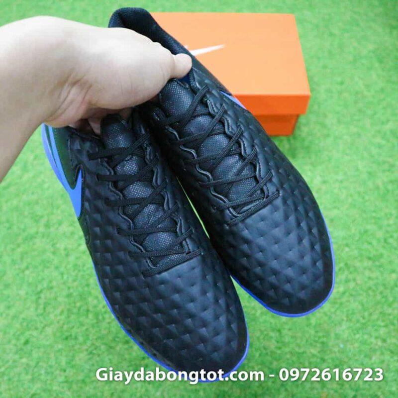 Giay da bong chan be Nike Tiempo 8 Academy TF den (7)