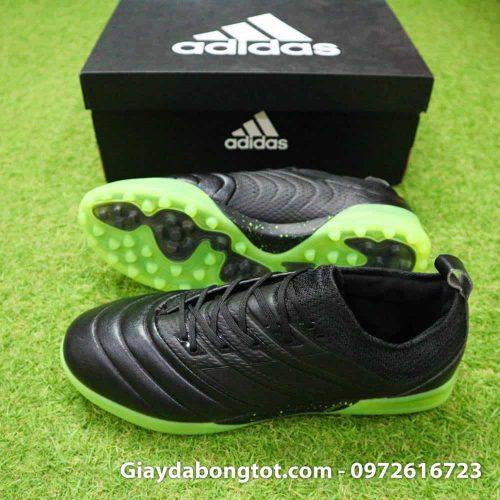 Giay da bong da me Adidas Copa 19.1 TF mau den (2)