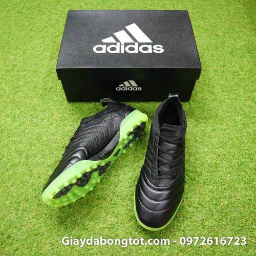 Giày đá bóng Adidas Copa 19.1 TF được làm bằng da mềm cùng đế giày êm ái chắc chân