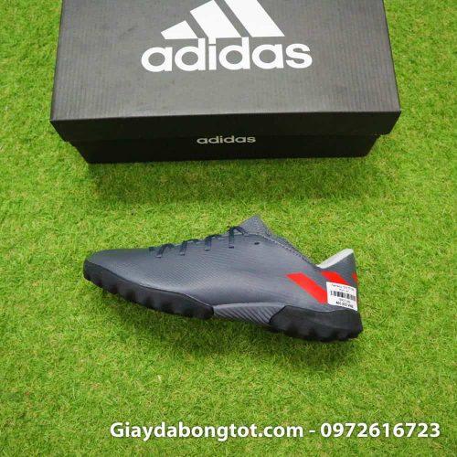 Giày đá bóng Adidas Nemeziz 19.3 TF đen mun với form giày thon gọn dễ làm quen