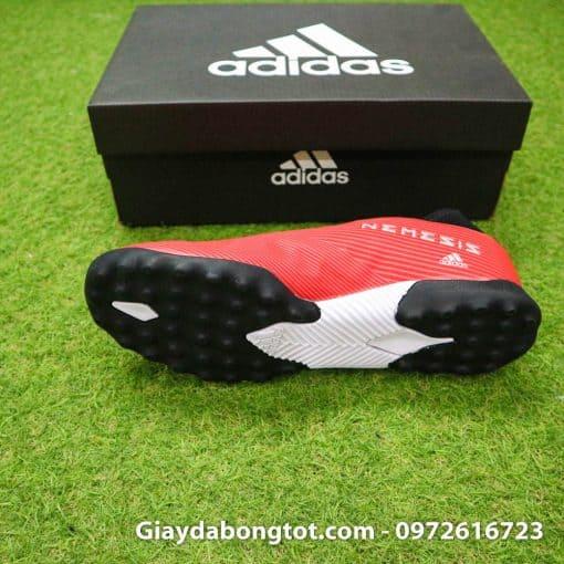 Giay bong da khong day Adidas Nemeziz 19.3 TF mau do 2019 (4)