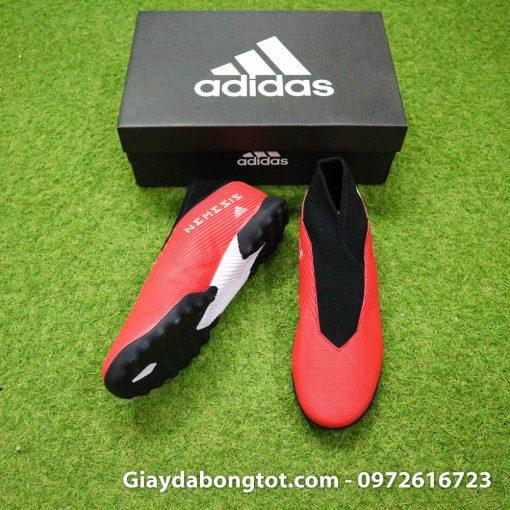 Giày Adidas Nemeziz 19.3 TF không dây có form giày thon gọn đẹp mắt