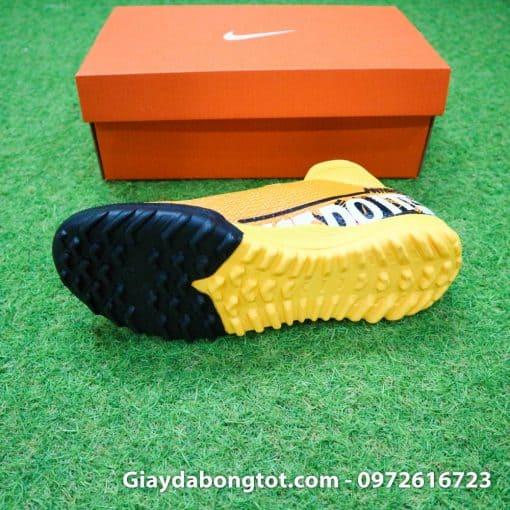 Giay da banh Nike cao co Superfly 7 TF vang cam 2019 (7)