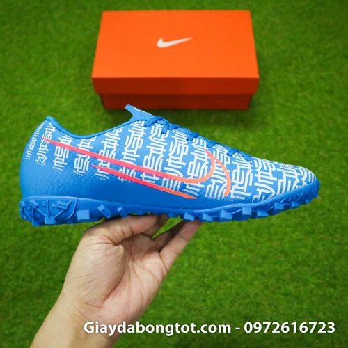 Giay da bong CR7 Nike Mercurial Vapor 13 Shuai mau xanh duong 2019 (10)