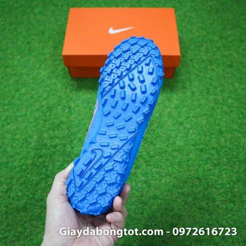 Đinh dăm TF sân cỏ nhân tạo Shuai màu xanh dương với thiết kế mới bám sân cực tốt