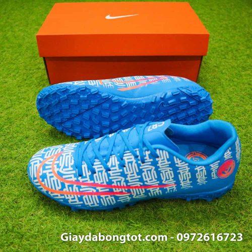 Giày đá bóng CR7 thế hệ mới 2019 Shuai màu xanh dương cực kỳ thon gọn đẹp mắt