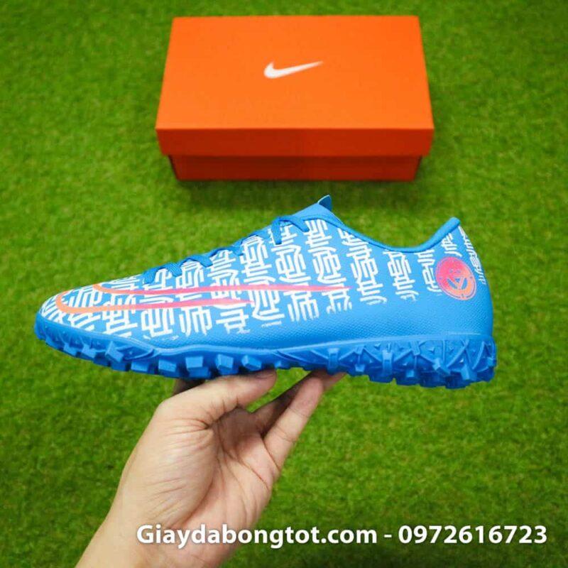 Giay da bong CR7 Nike Mercurial Vapor 13 Shuai mau xanh duong 2019 (9)