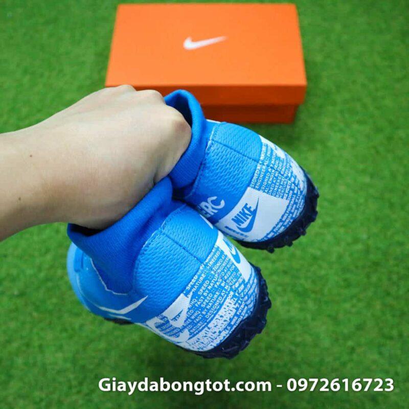 Giay da bong Nike Mercurial Superfly 7 Academy TF xanh duong 2019 (10)