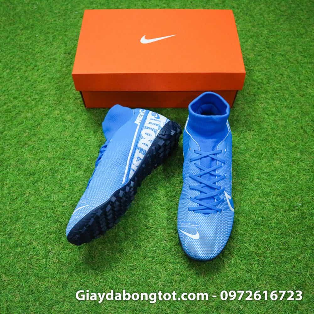 Giày đá bóng Nike cổ cao Superfly 7 Academy có thiết kế gọn gàng hơn các mẫu giày Nike cổ cao khác