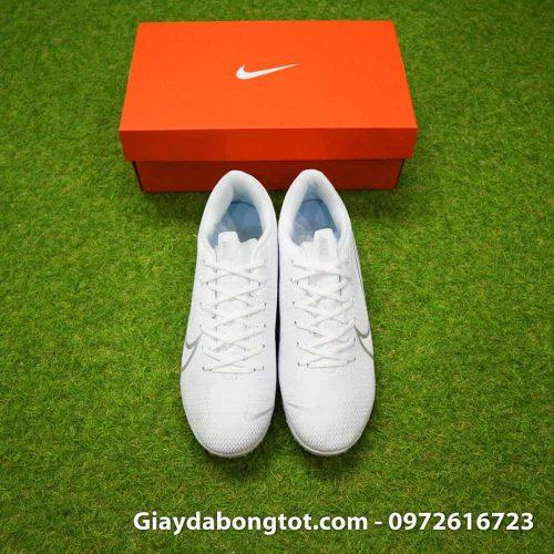 Giay da bong Nike Mercurial Vapor 13 TF mau trang white out 2019 sieu nhe (1)