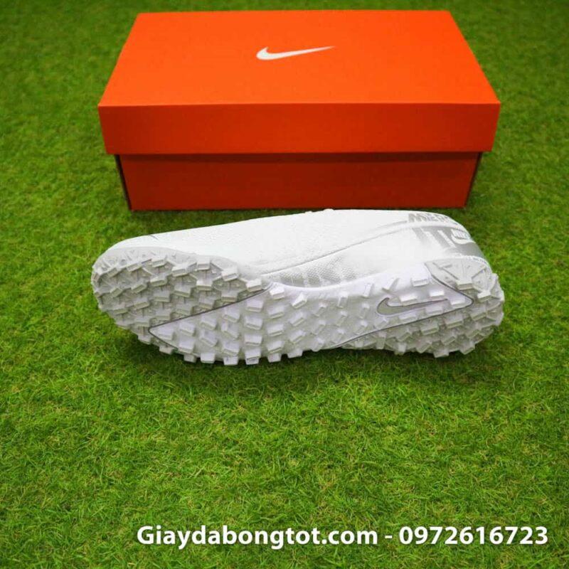 Giay da bong Nike Mercurial Vapor 13 TF mau trang white out 2019 sieu nhe (4)