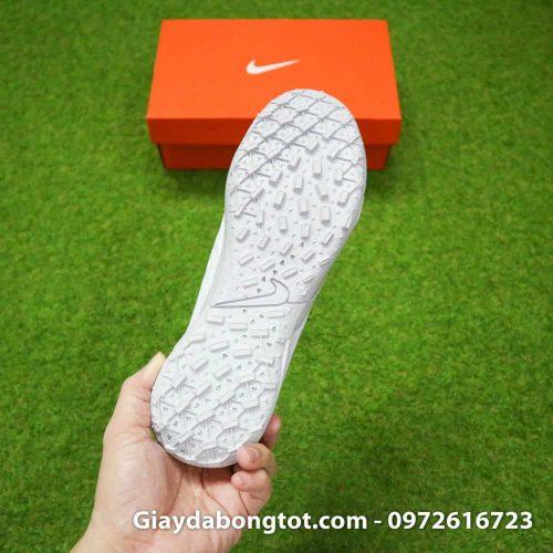 Giay da bong Nike Tiempo X 8 Pro TF trang white out da mem sieu nhe (10)