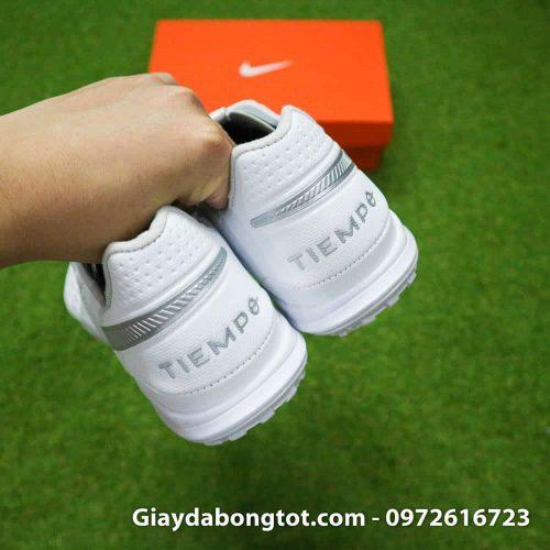 Giay da bong Nike Tiempo X 8 Pro TF trang white out da mem sieu nhe (11)