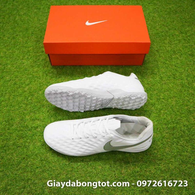 Giay da bong Nike Tiempo X 8 Pro TF trang white out da mem sieu nhe (2)