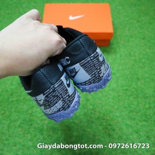 Giay san co nhan tao Nike Mercurial Vapor 13 TF full den black out 2019 (10)