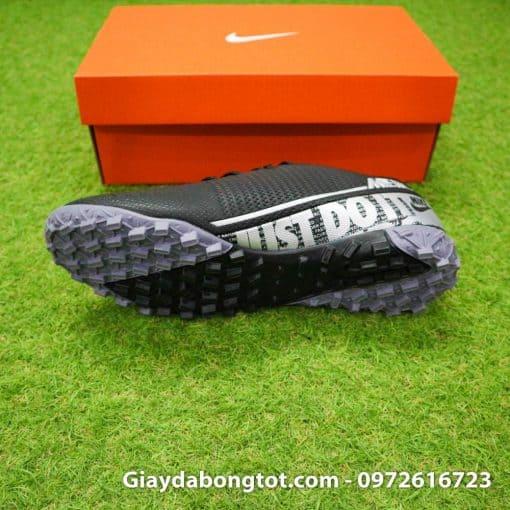 Giay san co nhan tao Nike Mercurial Vapor 13 TF full den black out 2019 (4)
