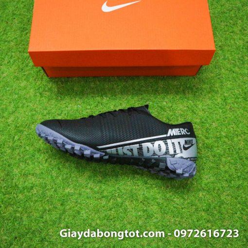 Giay san co nhan tao Nike Mercurial Vapor 13 TF full den black out 2019 (6)