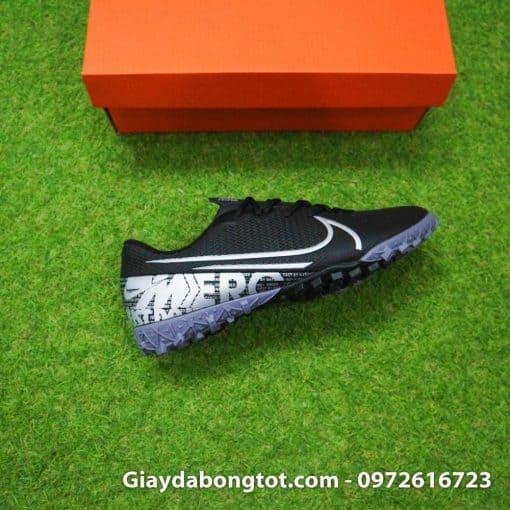 Giay san co nhan tao Nike Mercurial Vapor 13 TF full den black out 2019 (7)