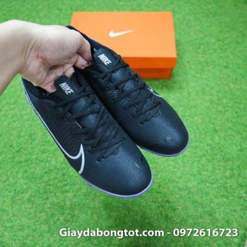 Giay san co nhan tao Nike Mercurial Vapor 13 TF full den black out 2019 (9)