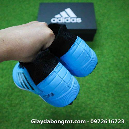 Giay bong da Adidas Predator 19.3 TF cao co xanh da troi den (1)