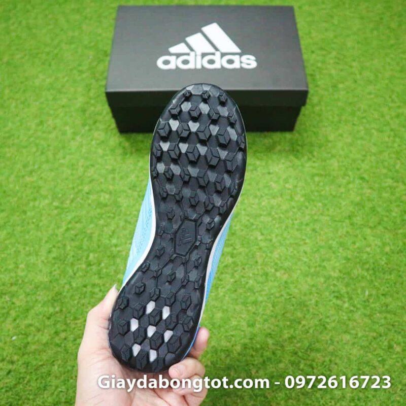 Giay bong da Adidas Predator 19.3 TF cao co xanh da troi den (13)