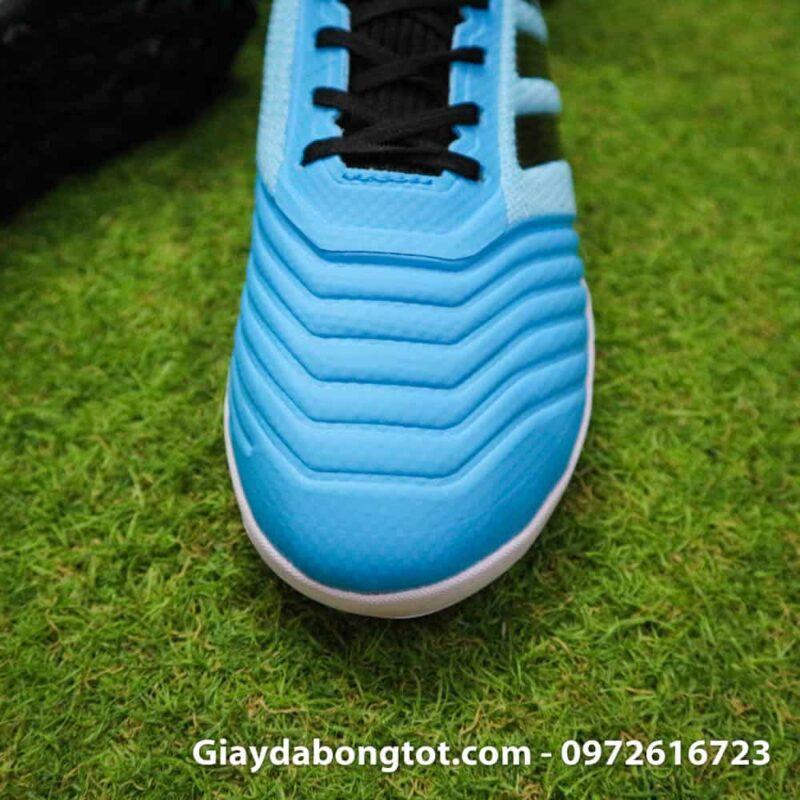 Giay bong da Adidas Predator 19.3 TF cao co xanh da troi den (6)