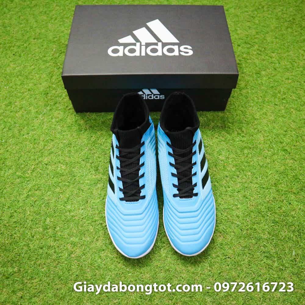 Giày sân cỏ nhân tạo Adidas Predator 19.3 TF có các vân nổi trên bề mặt thân giày hỗ trợ kiểm soát bóng