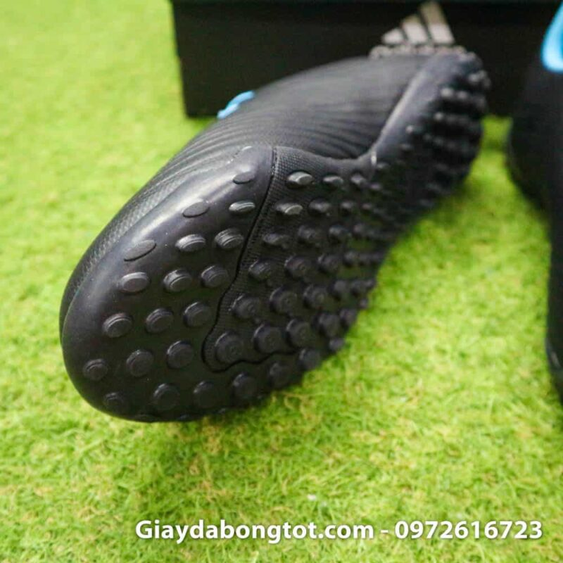 Giay bong da Adidas Predator 19.4 TF den vach xanh (4)