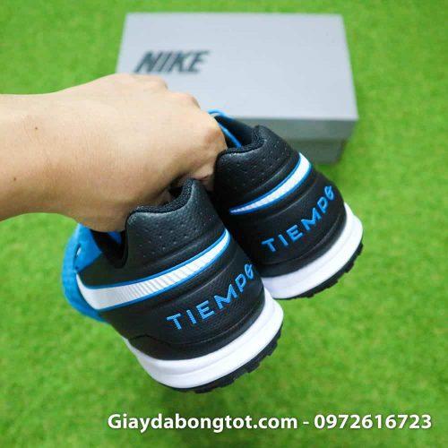Giay bong da da mem Nike Tiempo X 8 Pro TF xanh duong 2019 (1)