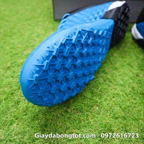 Giay bong da da mem Nike Tiempo X 8 Pro TF xanh duong 2019 (6)