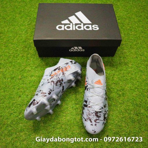 Giày đá bóng Adidas Nemeziz 19.1 FG năm 2019 có form giày thoải mái và phù hợp bàn chân bè