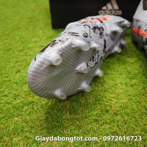 Giay da banh Adidas Nemeziz 19.1 FG mau xam Camo 2019 (7)