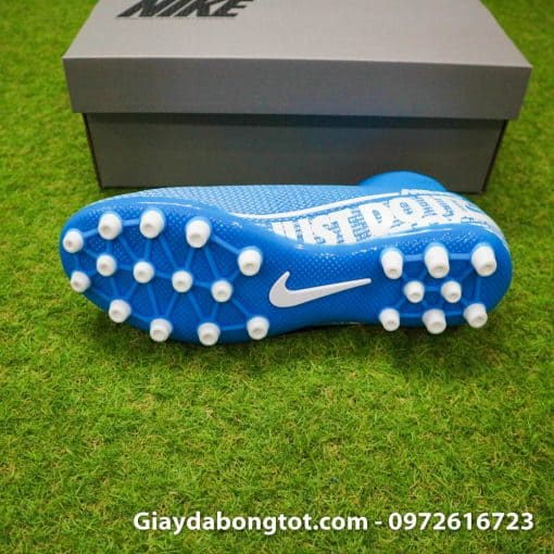 Giay da bong Nike Mercurial Superfly 7 Academy AG xanh duong 2019 (3)