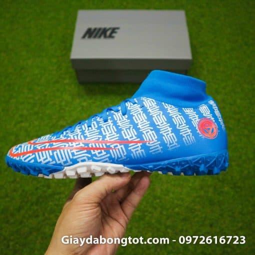 Giay da bong Nike Mercurial Superfly 7 Academy CR7 TF xanh duong Shuai (11)
