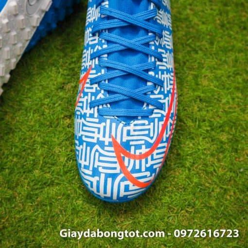 Giay da bong Nike Mercurial Superfly 7 Academy CR7 TF xanh duong Shuai (7)