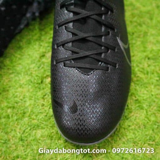 Giay da bong Nike cao co Mercurial Superfly 7 Academy TF den (8)