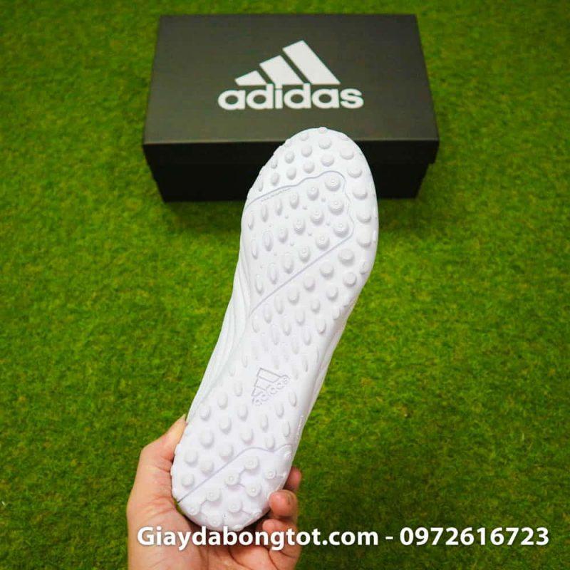 Giay da bong chan be Adidas Copa 19.4 TF trang vach vang 2019 sieu nhe (1)