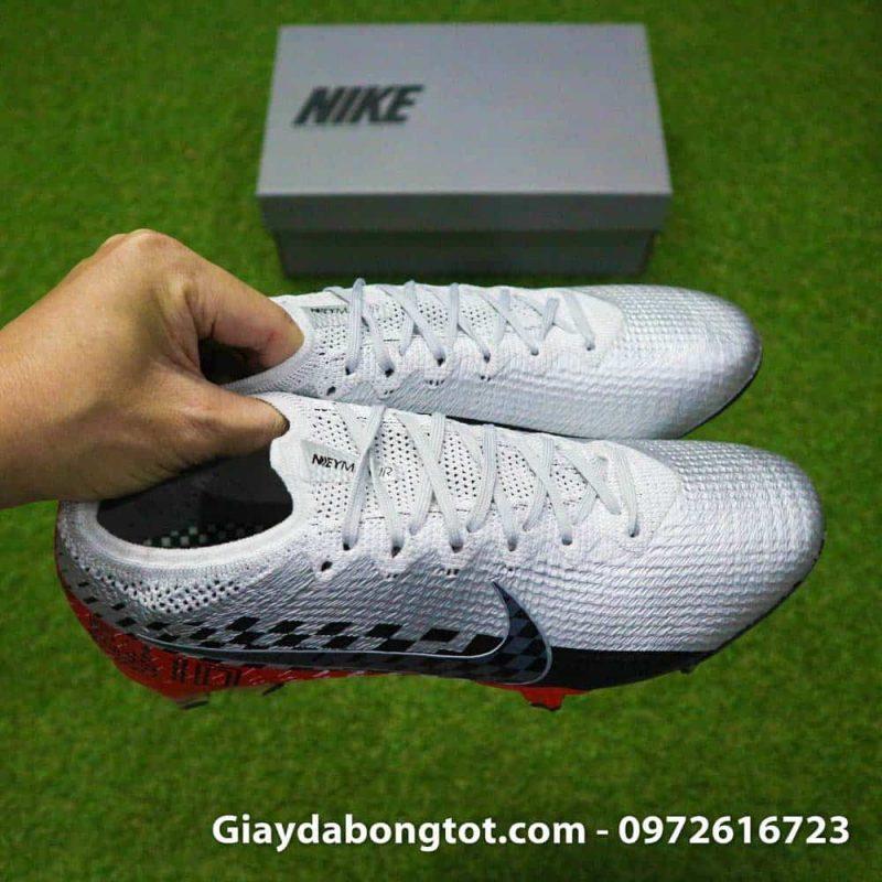 Giay bong da Nike Vapor 360 Neymar FG Elite trang den do (11)