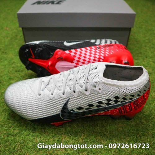Giay bong da Nike Vapor 360 Neymar FG Elite trang den do (3)