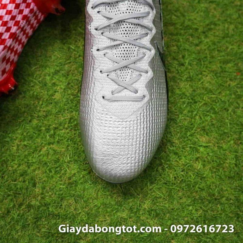 Giay bong da Nike Vapor 360 Neymar FG Elite trang den do (7)