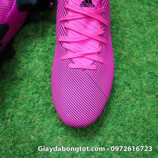 Giay da banh mau hong Adidas Nemeziz 19.3 FG moi 2019 (6)