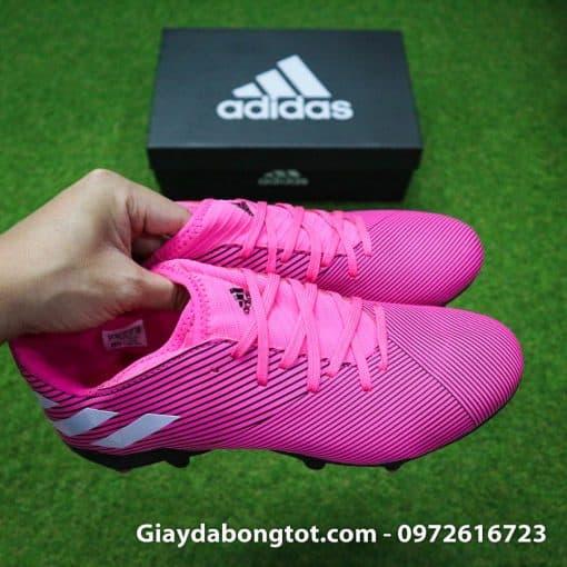 Tự tin khoe cá tính với giày đá bóng Adidas màu hồng Nemeziz 19.3 FG