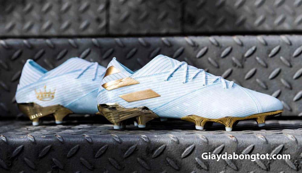 Vẻ đẹp của giày đá bóng của Messi Adidas Nemeziz 19.1 FG