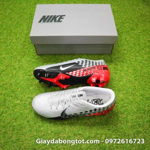 Giày đá bóng chân bè Nike Mercurial Vapor 13 FG Neymar xám đỏ