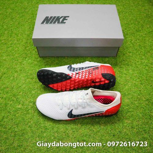 Giày đá bóng Nike Mercurial Vapor 13 PRO TF Neymar trắng đỏ đen 2019