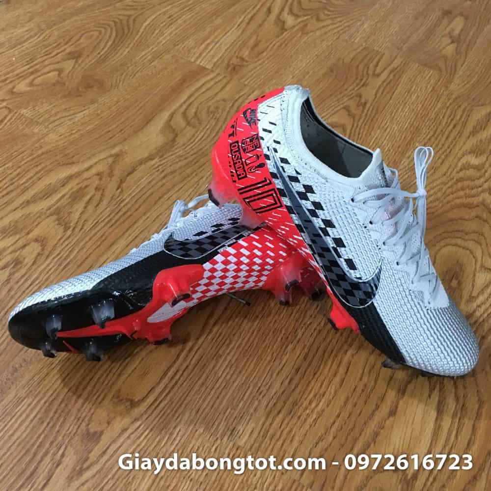 Ảnh thật chụp tại shop giày đá bóng Nike Mercurial Vapor 360 FG Neymar xám đen đỏ