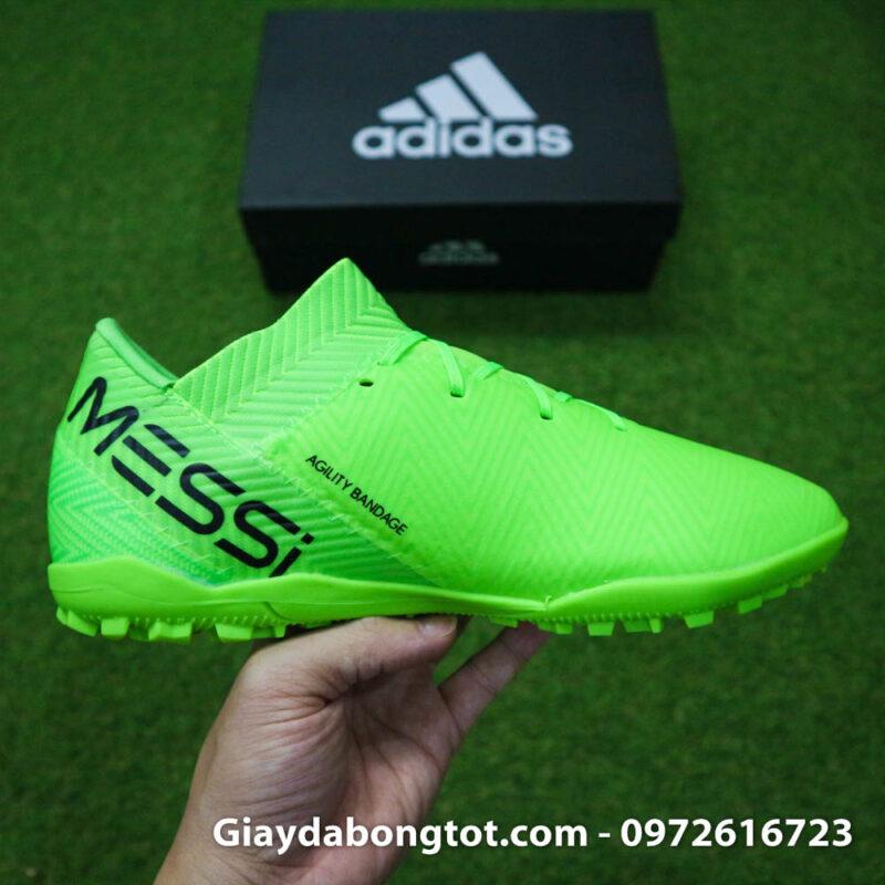 Giay bong da Adidas Nemeziz 18.3 TF Messi xanh la da vai (12)