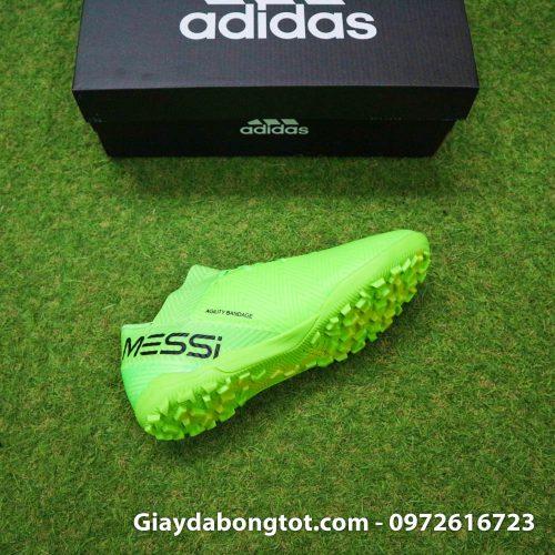 Giay bong da Adidas Nemeziz 18.3 TF Messi xanh la da vai (9)