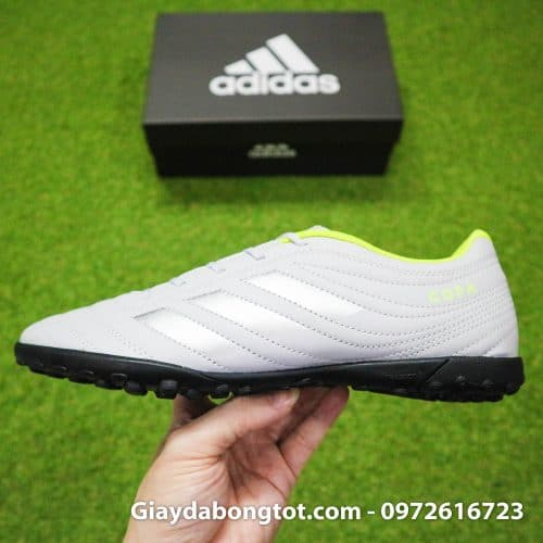 Giay da banh Adidas Copa 19.4 TF xam vach den (10)