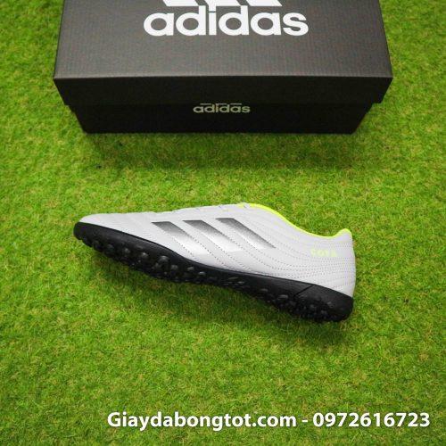 Giay da banh Adidas Copa 19.4 TF xam vach den (13)